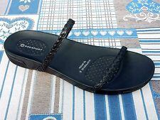 ROCKPORT  JADA  black LEATHER   SANDALS   WOMEN  SIZE  US 7  medium     NEW