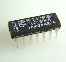 Philips HEF4066BP Quad Single Pole Single Throw Analog Switch OMA046A