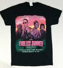 Endless Summer Tour 2018 G-Eazy Lil Uzi Vert Adult Size S Rap Hip Hop T-Shirt