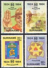 Surinam 1984 Scouts/Scouting/Camp Fire/Youth/Leisure/Jamboree 4v set (n27400)