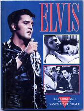 ELVIS By K.D. Kirkland - 1988 - HARDCOVER BOOK - Presley - Rock n Roll - 1st Ed
