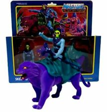 MOTU Evil Skeletor and Savage Panthor Masters of the Universe Reaction Figures