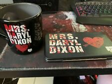 The Walking Dead AMC Mrs. Daryl Dixon Wallet And Mug   c