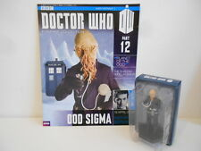 DOCTOR WHO - FIGURINE COLLECTION - Part 12 - OOD SIGMA FIGURE + MAGAZINE