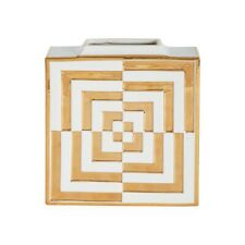 Jonathan Adler - Square Vase - Futura OP Art Sold Out NIB