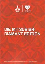 Prospekt / Brochure Mitsubishi Diamant Edition 10/2014 Space Star Lancer ASX
