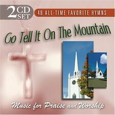 New: Go Tell It On The Mountain 2-CDs 40 Favorite Hymns for Praise/Worship