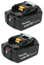 Makita BL1850 5ah LXT lithium ion battery X2 632B77-5