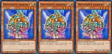 Magician's Valkyria 1st X 3 YUGIOH LDK2-ENY17 Effect Monster