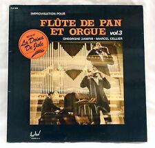 Gheorghe Zamfir Marcel Cellier – Improvisation Pour Flûte De Pan Et Orgue Vol 3