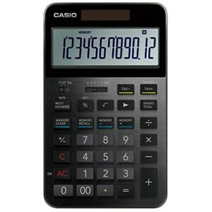 CASIO THE SPECIAL ONE Premium Calculator S100 Black With Tracking from JAPAN NEW