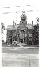 D53/ Adrian Michigan Mi RPPC Postcard County Court House c40s    20