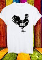Big Black Cock Animal Funny BBC Men Women Unisex T-shirt 2725