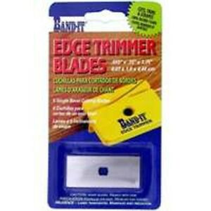 NEW Band It 25233 Edge Trimmer Replacement Blades SINGLE BEVEL
