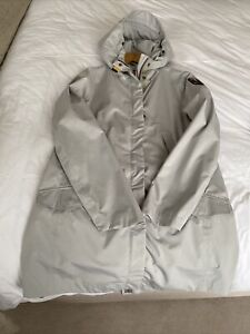 Parajumpers Hooded Jacket Light Grey  Size L