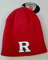 NWT Top of the World KID'S (3-8) RUTGERS SCARLET KNIGHTS Knit BEANIE Cap Hat