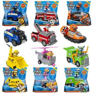 Paw Patrol New Basic Fahrzeuge ! Chase, Rocky,Marshall, Sky, Tracker! Neu & Ovp!