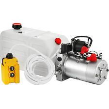 7L Hydraulikaggregat, Hydraulik Pumpe 12Volt 180 bar 2000W LKW Kipper Anhänger
