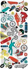 Divertenti Adesivi Skateboard e BMX 832 per BAMBINI divertente attività artigianali..