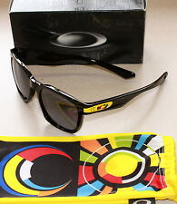 OAKLEY GARAGE ROCK VALENTINO ROSSI VR46 EDITION BLACK W/ GREY LENS SUNGLASSES