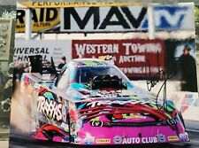 Autograph Picture NHRA Courtney Force Traxxas Camaro