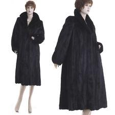 Mint! Forever in Fashion Black Beauty Female Mink Fur A-Line Coat