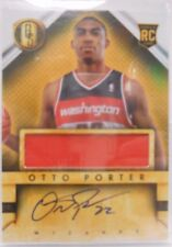 2013-14 Panini Gold Standard Otto Porter Autograph Jersey Rookie # 260