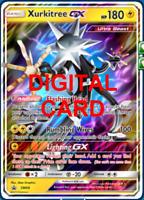 1X Xurkitree GX SM68 Pokemon Online Card TCG PTCGO Digital Card
