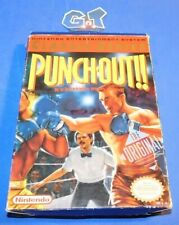PUNCH-OUT!!! Nintendo NES CIB Complete Cart: Cleaned/ Tested