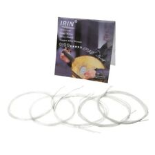 10pcs/set 0100 Oud Strings Clear Nylon String Silver Plated Copper Alloy Wound