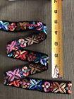 Vintage Embroidered jacquard ribbon trim
