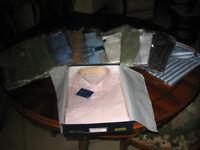 Lotto stock 10 camicie uomo nuove, mai indossate