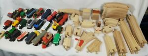 Assorted Wooden Train Set Learning Curve Brio Thomas the Tank engine Mix Set