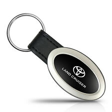 Toyota Land Cruiser Oval Style Metal Key Chain Key Fob
