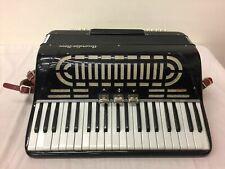 Vintage Blck Accordia Nova Piano Accordion, Italy