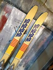 Vintage K2 Team Freestyle 44 Ballet skis size 160 cm