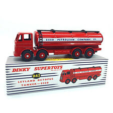 Atlas 1:43 Dinky Toys Car 943 Octopus Tanker ESSO ALLOY Diecast CAR model