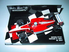Minichamps F1 1/43 PANASONIC TOYOTA TF101 TEST CAR 2001 MIKA SALO