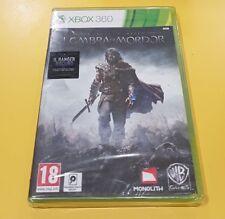La Terra di Mezzo L'Ombra di Mordor GIOCO XBOX 360 NUOVO