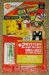 HEXBUG NANO BOX SUMO VIBRATION POWERED CHICKEN + 2 MYSTERY SKINS (New - Sealed)