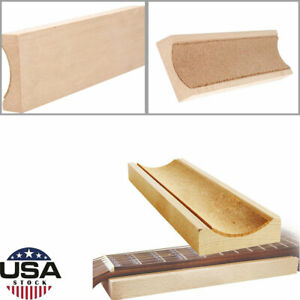 Bass Guitar Neck Fingerboard Rest Holder Supporter U-block Luthiers Tool Soft