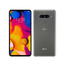 LG V40 ThinQ LMV405EBW Dual 6GB RAM 128GB Platinum Gray Auténtic