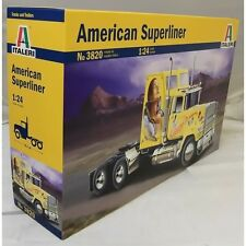 Italeri 1:24 3820 American Superliner Model Truck Kit