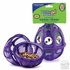 Busy Buddy Activity Treat Dispensing Play Ball Dog Toy - Kibble Nibble - Large