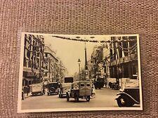 Postcard London's Jubilee Decorations, St Jame's Street. Fortnum & Mason Van