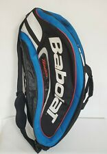 Babolat Team Tennis Bag Blue - 6 Racquet w/ Shoulder Straps Team