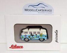 """Schuco Piccolo: 05336 VW T1 Bus Hippie-Bus """"Surfer"""", mit Surfbrettern - 750 pcs."""