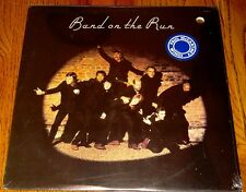 PAUL McCARTNEY BAND ON THE RUN ORIGINAL APPLE LP STILL SEALED PROMO WITH POSTER