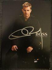 Handsignierte Autogrammkarte *NICO ROSBERG* MERCEDES F1 TEAM 2016 HUGO BOSS RAR