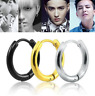 Surgical Steel Hoop Earrings Septum Clicker Segment Nose Ring Ear Tragus Jewelry
